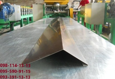 Размеры стандартные ветровой планки 100 на 100 мм, длина 1,25м, 2 м, 2.5 метра ,. Киев, Киевская область. фото 2