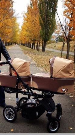 Продам коляску для двойни/погодок BabyActive Twinny 2в1!. Рубежное. фото 1