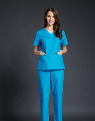 Медицинский женский костюм из качественной ткани Сису. Акция. Владимир-Волынский. фото 1