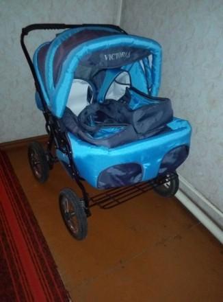 Продам коляску для двойни. Каменское. фото 1