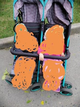 Детская коляска для двойнят и блезнят. Чернигов. фото 1