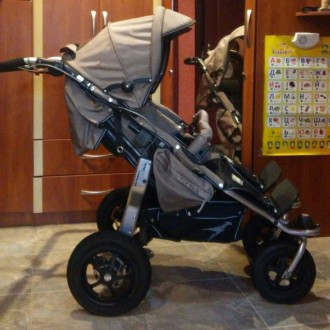 Прогулочная коляска для двойни TFK Twinner Twist Duo (ТФК). Сумы. фото 1