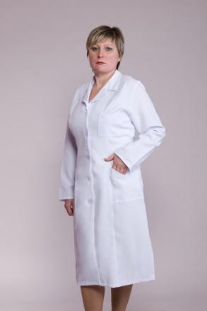 Халат медицинский женский из бязи. Владимир-Волынский. фото 1