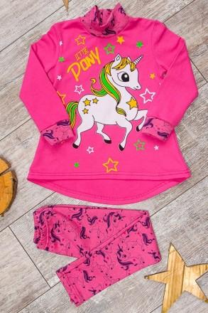 Туника пони, единорог, комплект пони, костюм пони, кофта, туника и лосины. Киев. фото 1