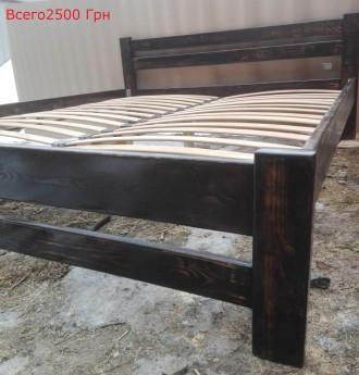 Деревянная кровать (Сосна) 160*200. Киев. фото 1