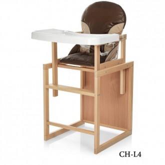 Вивас CH стульчик для кормления трансформер Vivast деревянный. Хмельницкий. фото 1