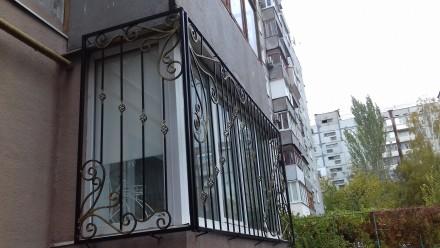 Решетки,балконы,лоджии,заборы,ворота и т.д.. Запорожье. фото 1