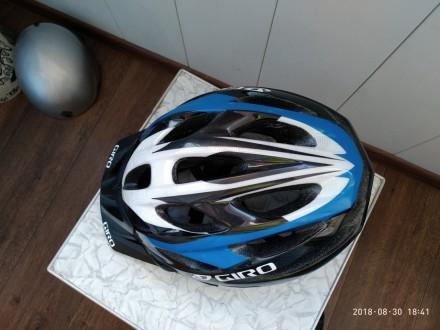 Шлем велосипедный  Состояние хорошее 5-/5  59 - 63 см  Пишите, договоримся. Киев, Киевская область. фото 3