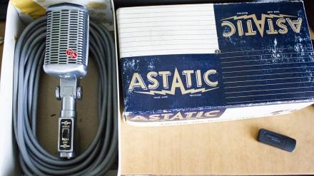 Astatic M 77 Микрофон Винтаж. Киев. фото 1