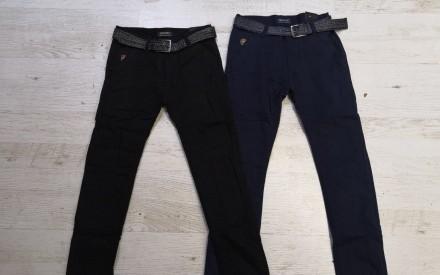 Черные штаны-коттоны джинсы на флисе на мальчика р. 134, 146, 152, 158,164Seagul. Дніпро. фото 1