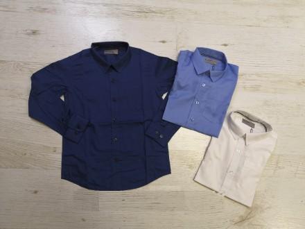 Рубашки для мальчиков Glo-Story 110, 120, 130, 140, 150, 160. Венгрия.. Днепр. фото 1