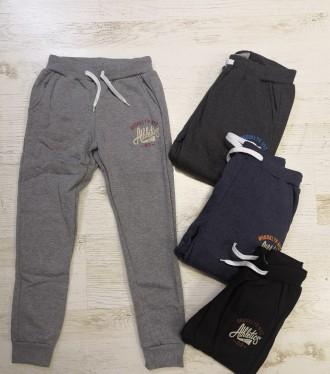 Спортивные штаны утепленные для мальчиков GloStory 134/140, 146/152, 158/164-170. Днепр. фото 1