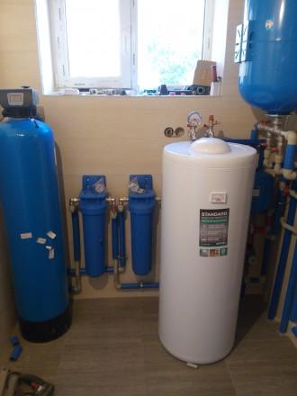 Установка систамы очистки воды,. Киев. фото 1