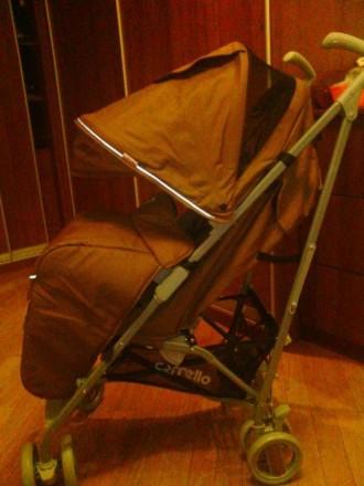 Прогулочная коляска carrelo costa. Бровары. фото 1