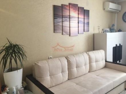 Комнаты раздельные, санузел раздельный. Квартира с ремонтом ,мебелью и техникой.. Приморский, Одесса, Одесская область. фото 2