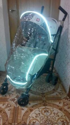 Прогулочная коляска-трость Quatro Nafi Beige. Вышгород. фото 1