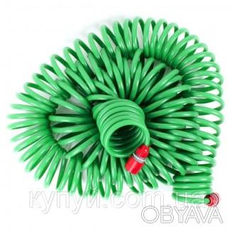 Шланг спиральный 30м с конекторами + aдаптер универсальный для конектора 1/2