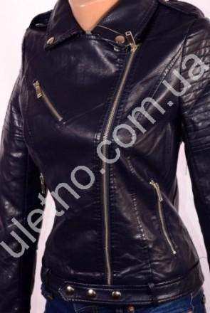 Куртки женские кожзаменитель (эко-кожа) оптом от 450 грн. Одесса. фото 1