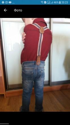 Джинсы Cikoby Baby с рубашкой Carter's (модный малыш 1 -2.5 года). Харьков. фото 1