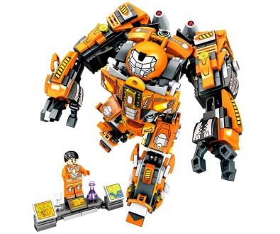 Конструктор JVToy 17001 Служба спасения 507 деталей аналог Lego Лего. Новый! Хит. Днепр. фото 1