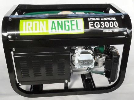 Технические характеристики генератора Iron Angel EG 3000: Торговая марка: Iron . Киев, Киевская область. фото 2