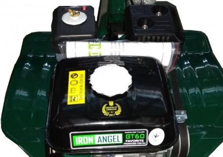 Почвофрез Iron Angel GT 60Модель двигателя: E200Вид двигателя: бензиновыйТип . Киев, Киевская область. фото 3