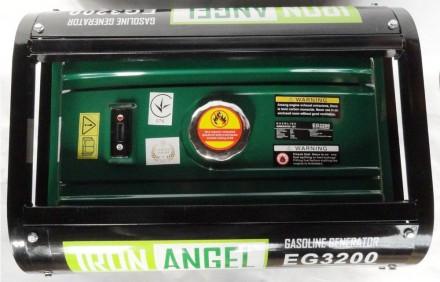 Генератор Iron Angel EG3200   Максимальная мощность (кВт):  3,0   Номинал. Киев, Киевская область. фото 3