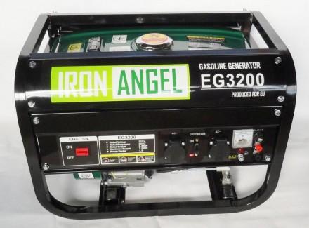 Генератор Iron Angel EG3200   Максимальная мощность (кВт):  3,0   Номинал. Киев, Киевская область. фото 2