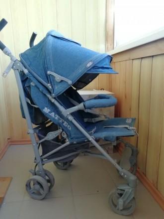 Прогулочная коляска трость Kids lufe mateo. Бердянск. фото 1