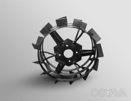 Грунтозацепы АРА 43 см (пара) (430*160 мм) Колесо идеально подходят для мотоблок. Киев, Киевская область. фото 1