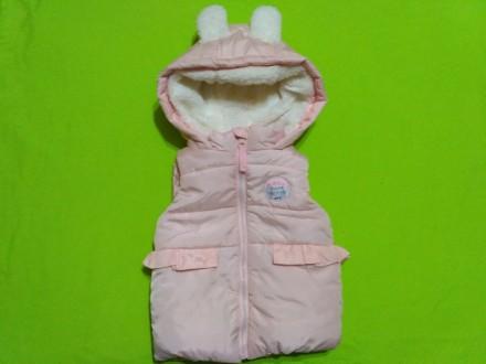 Тепла куртка-безрукавка для дівчаток (Польща). Любомль. фото 1