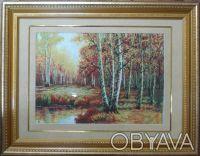 Продам картину вышитую шелком на шелке.    В этой картине присутствуют элементы. Одесса, Одесская область. фото 3