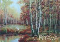 Продам картину вышитую шелком на шелке.    В этой картине присутствуют элементы. Одесса, Одесская область. фото 2