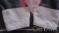 Продам свитер на девочку,р.140,б/у,имитация с белой блузкой,основной цвет-серый,. Чернигов, Черниговская область. фото 6