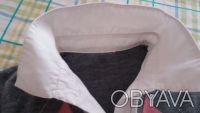 Продам свитер на девочку,р.140,б/у,имитация с белой блузкой,основной цвет-серый,. Чернигов, Черниговская область. фото 3