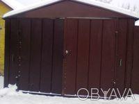 Чернигов,Металлический гараж в Гущине.. Чернигов. фото 1