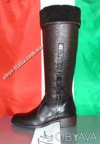 Сапоги женские кожаные фирмы Tilt производство Италия оригинал. Киев. фото 1