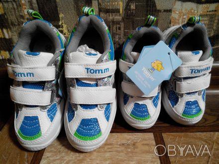 Очень легкие кроссовки подойдут как для девочки так и для мальчика Tom.m. Верх . Харків, Харківська область. фото 1