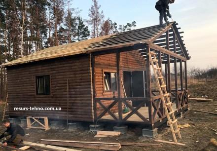 Вы хотите построить дачный дом? Но, узнав цены  и сроки, пришли в замешательство. ДВРЗ, Киев, Киевская область. фото 9
