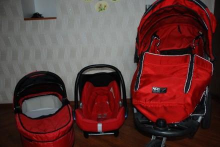 Продам коляску TFK Joggster X 3 в 1 бу 3800 грн. Ровно. фото 1