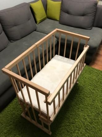 Детская кроватка для новорожденных. Днепр. фото 1