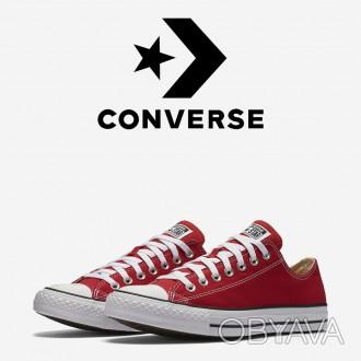 6f494232 ᐈ Кеды Converse All Star Оригинал Красные Конверсы M9696C ᐈ Луцк ...