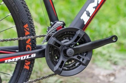 """Велосипед Impuls Santa 26"""" цвет черно-красный диаметр колес 26"""" размер рамы 1. Киев, Киевская область. фото 8"""