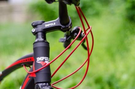 """Велосипед Impuls Santa 26"""" цвет черно-красный диаметр колес 26"""" размер рамы 1. Киев, Киевская область. фото 3"""