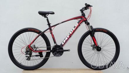 """Велосипед Impuls Santa 26"""" цвет черно-красный диаметр колес 26"""" размер рамы 1. Киев, Киевская область. фото 1"""