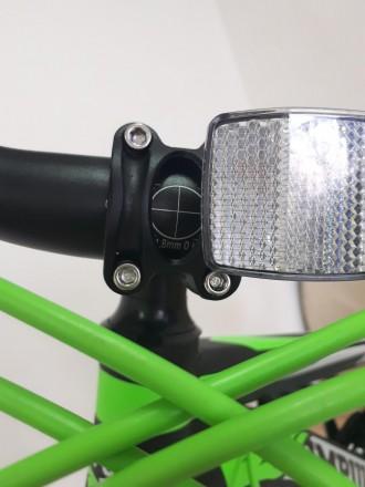 """Велосипед Impuls Morgan 26"""" цвет черно-салатово-белый диаметр колес 26"""" разме. Киев, Киевская область. фото 5"""