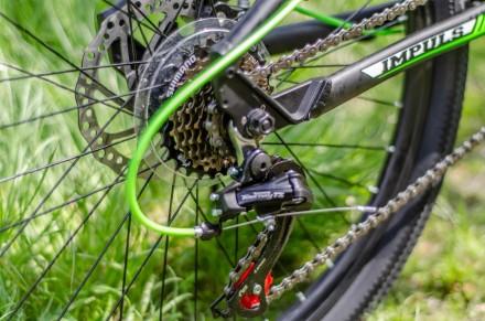"""Велосипед Impuls Morgan 26"""" цвет черно-салатово-белый диаметр колес 26"""" разме. Киев, Киевская область. фото 8"""