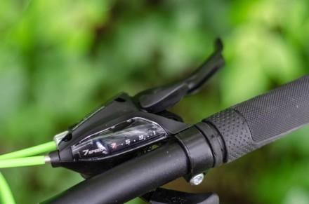 """Велосипед Impuls Morgan 26"""" цвет черно-салатово-белый диаметр колес 26"""" разме. Киев, Киевская область. фото 10"""