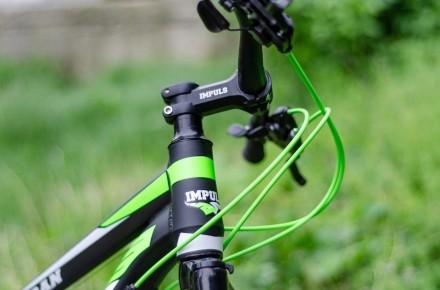 """Велосипед Impuls Morgan 26"""" цвет черно-салатово-белый диаметр колес 26"""" разме. Киев, Киевская область. фото 11"""