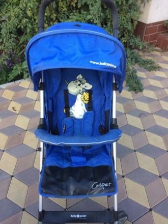Детская прогулочная коляска-трость Baby Point Casper. Бровары. фото 1